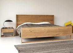 Simple, versatile, classy Oak Nordic Bed.