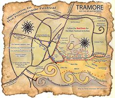 We Make Maps! Hand drawn, custom-made, colourful, quirky maps. We provide high quality images ready to print for business brochures and tourist guides. Each commission is different so whether it& Us Map, Red Dots, Business Brochure, Brochures, High Quality Images, Hand Drawn, Maps, How To Draw Hands, Activities