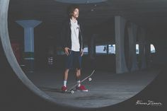 Portraits of a skater - Charl Jensel