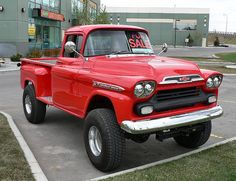 Very nice Chevy pickup.