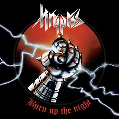 """Kryptos : First song of the new album + tourdates! / AFM Records """"Burn Up The Night"""", out on September 23rd (EU) / September 30th (US), is the fourth album by KRYPTOS, featuring amazing 80's throwback cover art by Mattias Frisk, renowned for his stunning work with occult rockers Ghost. The album is packed with steely riffs and twin guitar melodies straight out of the glory days of 80's metal and the NWOBHM movement."""