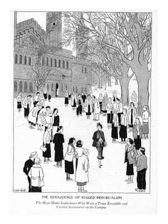 Bryn Mawr New Yorker Cartoons!