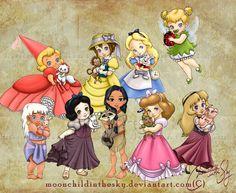 Child Princesses - Moonchild