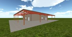 Cool 3D #marketing http://ift.tt/2oqoS8M #barn #workshop #greenhouse #garage #roofing #DIY
