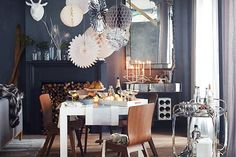 14 Holiday Decor Ideas To Deck The Halls #refinery29  http://www.refinery29.com/holiday-decorations#slide-9  ...