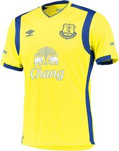 Umbro apresenta a terceira camisa do Everton - Show de Camisas Camisas De  Futebol ed920423ba599