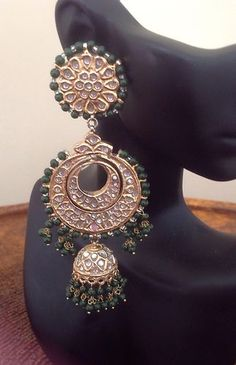 bollywood indian pakistani Gold Plated Jewelry Salwar Kameez Traditional Vintage