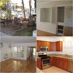 Rear 3-bed, 2 bath courtyard #apartment in #BeverlyHills near Roxbury Park. Large windows, hardwood floors, remodeled kitchen, and all the space you could want. Click through for more!