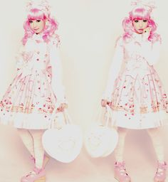 Angelic Pretty  Country of Sweets series  Sweet lolita style