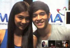 #GMAHangout with Kim Rodriguez and Jeric Gonzales