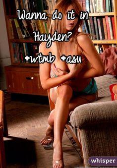 Wanna do it in Hayden? #wtmb #asu