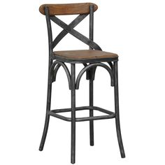 Powell stool - The cottage-style inspired Powell Stool features a time honored craftsmanship with a unique appeal. Unsurpassed for a fashionable mix of old, rec