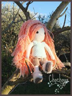 Ma première poupée en crochet! Patron: ma poupée en crochet d'isabelle Kessedjian Chochoya - Poupée en crochet - Amigurumi doll