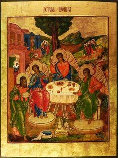Святая Троица, середина 19 в., частное собрание