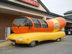 Who doesn't love the Oscar Mayer Weinermobile? That's right - no one!