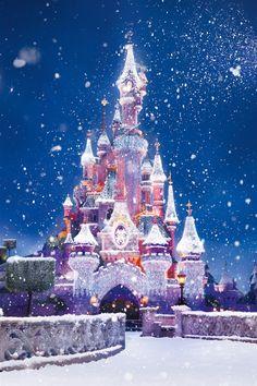 ディズニー城、雪飛行 iPho… | iPhone5 Wallpaper Gallery