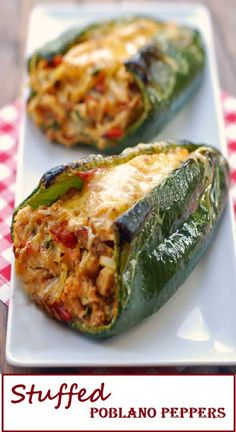 Stuffed Pablano Peppers - HOKIINFO.ORG