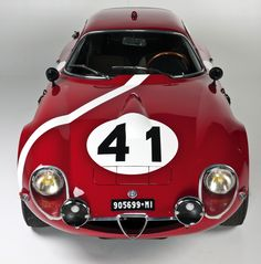 Alfa TZ2 | More here: http://mylusciouslife.com/stylish-home-luxury-garage-design/