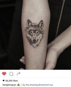 80 Siberian Husky Tattoo Designs For Men - Dog Ink Ideas Dog Tattoos, Forearm Tattoos, Animal Tattoos, Cute Tattoos, Body Art Tattoos, Girl Tattoos, Small Tattoos, Tribal Wolf Tattoos, Heart Tattoos