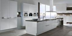 Hoogglans keuken wit