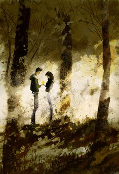 A golden leaf. by PascalCampion.deviantart.com on @deviantART