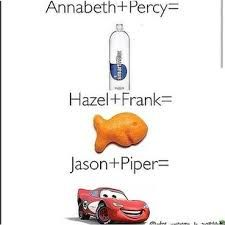 smart water--goldfish--lightning mcqueen Ahahahahah... Good one *claps*