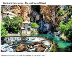 endroits-a-visiter-avant-de-mourir-blagaj-bosnie 39 endroits à visiter avant de mourir