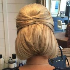 Formal Hairstyles for Bobs