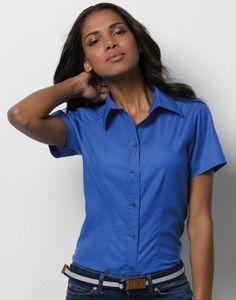 DoRachoty.cz - Dámská košile s krátkým rukávem Workwear Oxford Kustom Kit