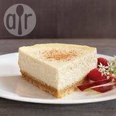 Foto de la receta: Pastel de queso con rompope