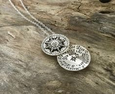 The Love Between a Mother and Son Necklace  by TheSilverWing