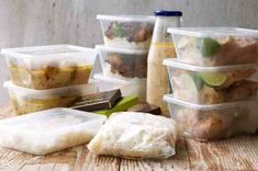 Leftovers packed in boxes for pot roasted coconut chicken Recipetin Eats, Australian Food, Coconut Chicken, Feel Good Food, Stuffed Whole Chicken, Coconut Curry, Few Ingredients, Roasted Chicken, Food Items