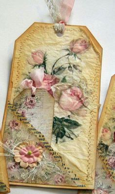 Image result for junk journal tags