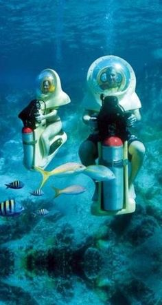 Underwater Scooters, St Thomas, US Virgin Islands by flossie