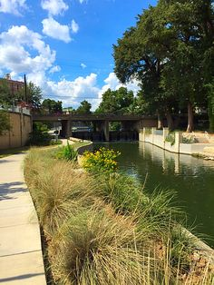Strolling along the San Antonio River towards S. Alamo Street, hot and sunny and a perfect day for a walk | Living the Dream