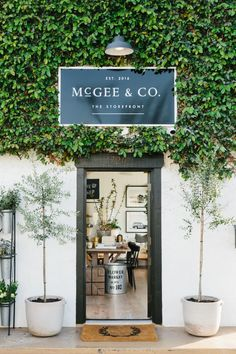 McGee & Co.- Costa Mesa Store Photo Tour, Beachy, Light & Airy Home Decor Store