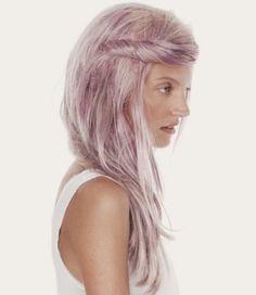 light violet hair