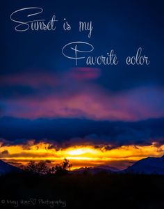 Sunset is my favorite color, along with sunrise. #talesfromthebackroad #photography #sunset