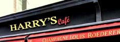 Harry's Cafe OHH MYYY GOD it says louis under it LOL