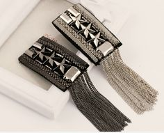 Wholesale Discount Jewelry Kpop new fashion vintage tassel epaulettes luxury punk jewelry men blazer accessories wholesale/pins/broches/scapular/epauletes Jewelry Kpop, Punk Jewelry, Men's Jewelry, Jewelry Accessories, Emerald Jewelry, Silver Jewelry, Male Jewelry, Steel Jewelry, Leather Jewelry
