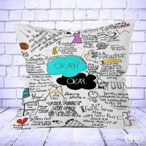 The Fault In Our Stars white Pillow Cases