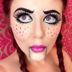 Halloween - doll makeup @danicampbellmua