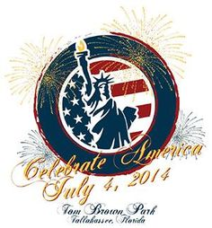 Celebrate America at Tom Brown Park in Tallahassee on July 4, 2014