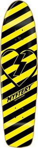 "Mystery Skateboards Mystery Destroyer Cruiser Deck 8.0"" Yellow Black DESTROYER  #skateboarding"