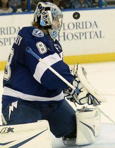 #TBLightning Andrei #Vasilevskiy stops 28 of 30 shots during preseason win over Nashville. | #JasonBehnken #twitter | #Bolts #NHL #hockey