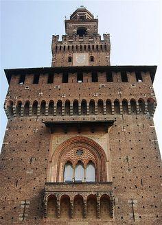 Milano - Castello Sforzesco #TuscanyAgriturismoGiratola