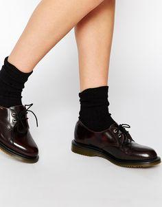 Image 1 ofDr Martens Kensington Brook 2-Eye Flat Shoes
