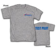 Green Lantern Movie Ferris Aircraft Test Pilot T-Shirt