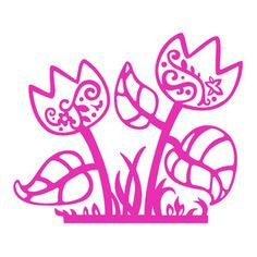 Silhouette Design Store - Search Designs : flowers stamp