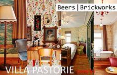 Hotelrooms Kamers Villa Pastorie  - Design Beers Brickworks Photo's #renevanderhulst